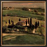 Tuscan Villa Prints by Elizabeth Carmel