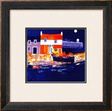 Blue Harbour Limited Edition Framed Print by George Birrell