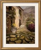 Sunlit Villa II Prints by Allayn Stevens