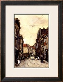 Busy Street at the Hague Netherlands Posters by Floris Arntzenius