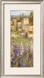 Provencal Village II Prints by Michael Longo