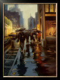 Manhattan Shimmer Prints by Carol Jessen