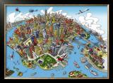 New York Prints by Hartwig Braun