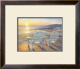 Relaxing Sunset Prints by Lucie Bilodeau