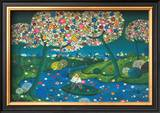 Flowered River, 1974 Art by Janine Faure-Terrieu