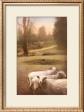Ruthie's Sheep Print by Barbara Kalhor
