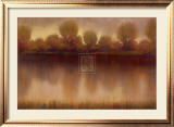 Marsh of the Warm Sunset Prints by Albert Williams