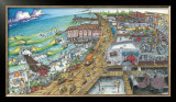 A Day at the Beach Prints by BOGY (Aaron Bogushefsky) 