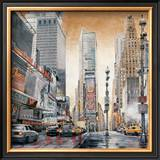 Crossroads, Times Square Poster by Matthew Daniels