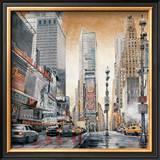 Crossroads, Times Square Poster by Matthew Daniels