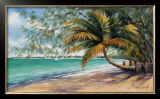 Seven Mile Beach Poster by Lois Brezinski
