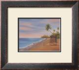 Tropical Beach II Prints by Vivien Rhyan