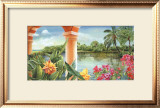 Tropical Pathways Posters by Lynn Fecteau