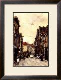 Busy Street at the Hague Netherlands Print by Floris Arntzenius