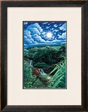 Full Moon over Seven Sacred Pools Prints by Hans Olson