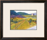 The Weingut Poster by Gail Wells-Hess