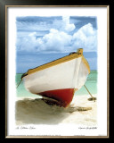 Le Bateau Blanc Poster by Chauve Auckenthaler