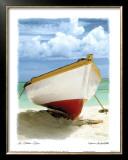 Le Bateau Blanc Poster by Chauve Auckenthaler