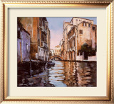 Venice Canal Art by Robert Schaar