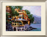 Portofino Villa Prints by Howard Behrens