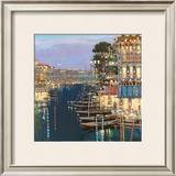 Riviera Twilight Art by Mario Sanzone