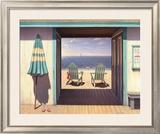 The Beach Club Prints by Daniel Pollera