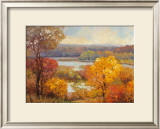 Shades of Autumn Poster by Kent Wallis