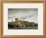 Nubble Light Poster by Douglas Brega