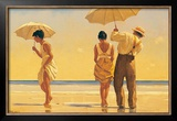 Mad Dogs Poster by Jack Vettriano