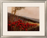 Field of Poppies Print by G. Michaud