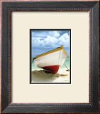 Le Bateau Blanc Print by Chauve Auckenthaler