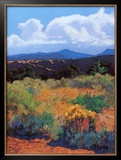 Distant Hills Prints by Mary Silverwood