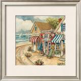 Ocean Village II Prints by Charlene Winter Olson