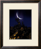 The Light of a Warm Town Framed Giclee Print by Kyo Nakayama