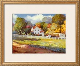 Early Autumn Farm Poster by Kent Wallis