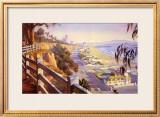 Pacific Coast Highway II Prints by John Comer