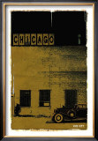 Chicago, Vice City in Brown Prints by Pascal Normand