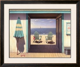 The Beach Club Art by Daniel Pollera