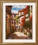 Mediterranean Villa II Prints by T. C. Chiu