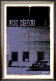 Las Vegas, Vice City in Purple Prints by Pascal Normand