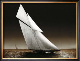 The Yacht Columbia on Water, 1899 Posters by Bill Philip