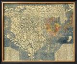 Nanzenbushu Bankoku Shoka No Zu, c.1710 Framed Giclee Print by  Hotan