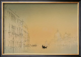 Salute, Venice, Sunrise Prints by Peter French