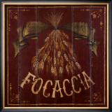 Focaccia Prints by Susan Clickner