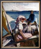Afternoon Sea Breeze Prints by Albert Edelfelt
