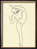 Danseuse Nue Poster by Auguste Rodin