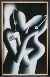 Dream Team Limited Edition Framed Print by Mark Kostabi