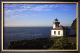 Lighthouse Framed Giclee Print by Eric Curre
