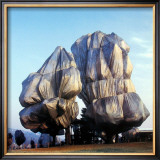 Wrapped Trees XVI Prints by Christo