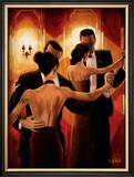 Tango Shop II Poster by Trish Biddle